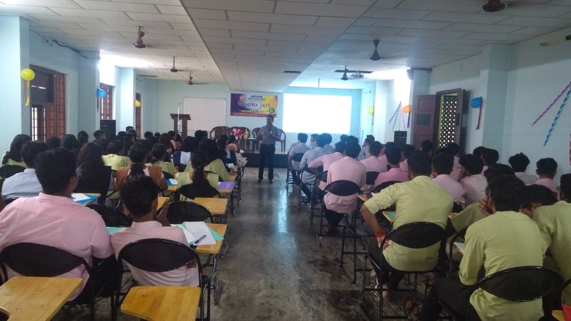 Dept of Computer Science - Inter -collegiate Seminar - TECHTRIX 2019